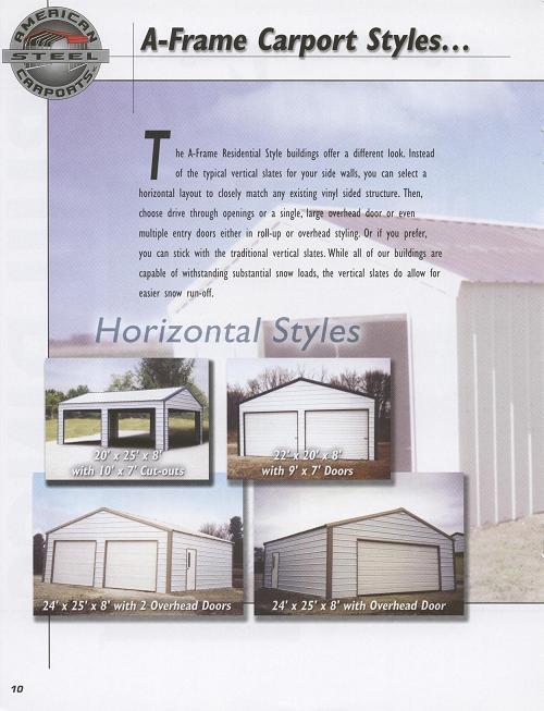 Online Brochure American Steel Carports Carports Com