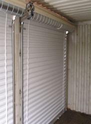 Inside rollup garage door & Standard Garage Doors - Carports.com offering fully enclosed metal ... Pezcame.Com