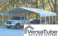 Regular Style Standard Carport - VERSATUBE